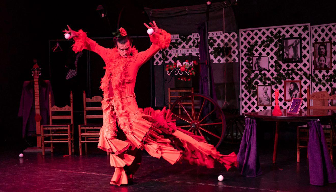 "Chicharrón Circo Flamenco ""Sin Ojana"""
