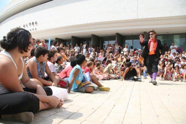 Circarte 2009 - Cia La Burbuja Circo - Foto Alejandra Garrido
